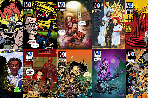 Value Bundle: All 10 Issues of Nix Comics Quarterly