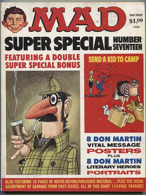 Mad Magazine Super Special #17