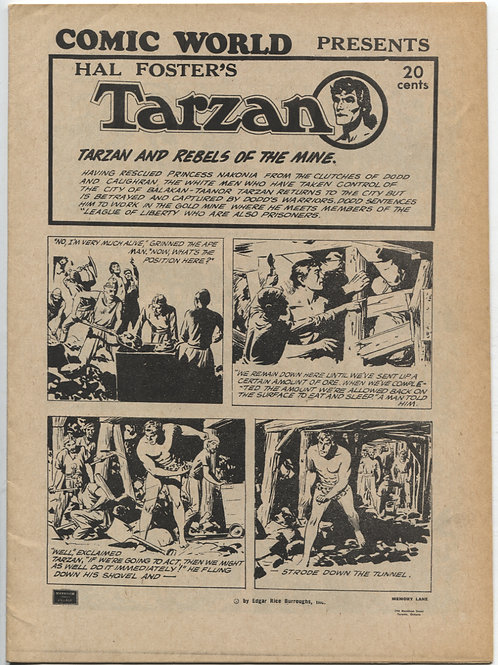 Comic World Presents: Hal Foster's Tarzan