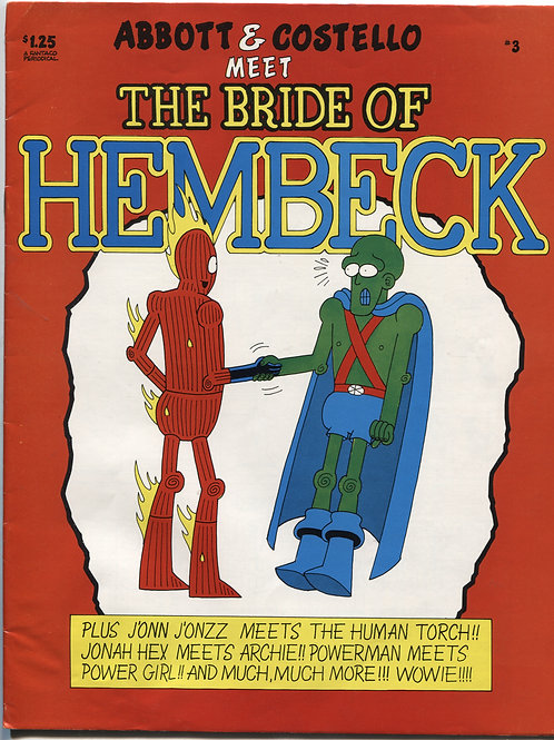 Combo:  HTC #1 with Hembeck #3