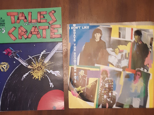 "Tales From The Crate #5 with Boomtown Rats I Don't Like Mondays 7"" Record"