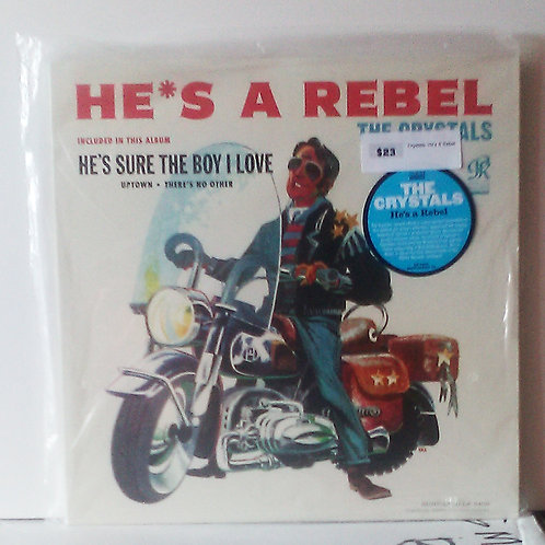 The Crystals – He's A Rebel LP