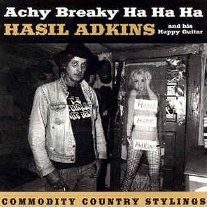 Hasil Adkins & His Happy Guitar: Achy Breaky Ha Ha Ha LP