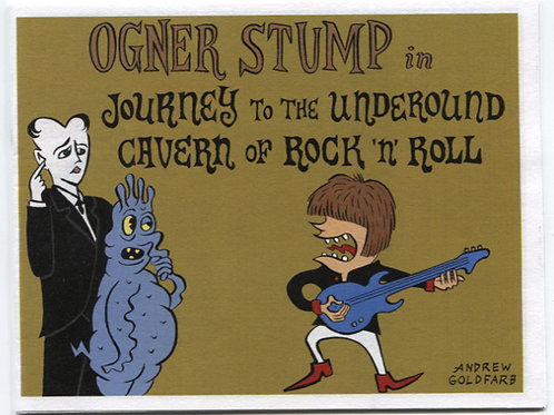 Andrew Goldfarb's Ogner Stump in Journey to the Underground Cavern...