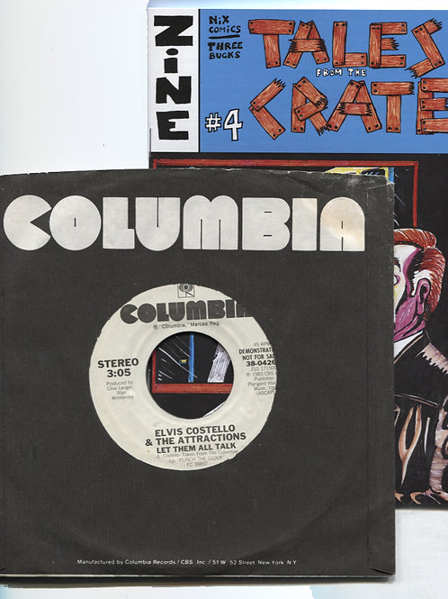 """Tales From the Crate #4 with Elvis Costello 7"""""""