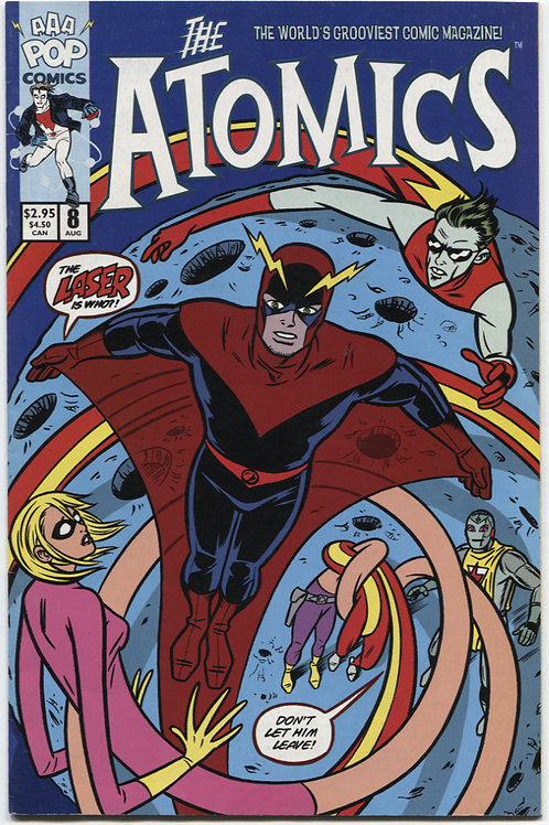 Michael Allred's The Atomics #8