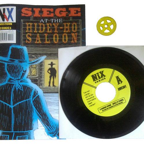 Nix Western Comics #1 comic & record Set