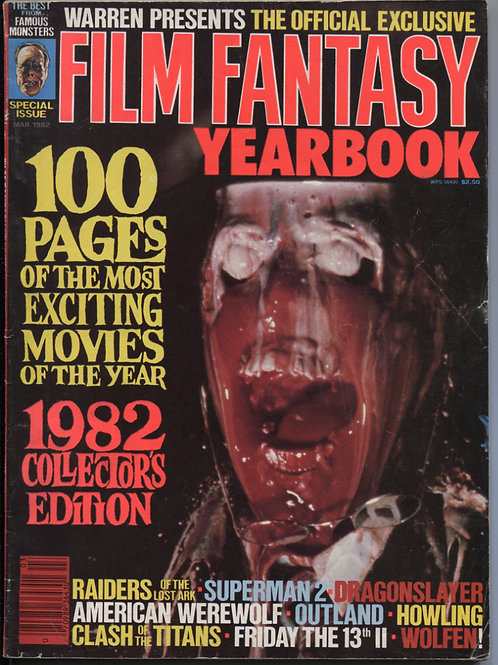 Famous Monsters: Film Fantasy Yearbook '82