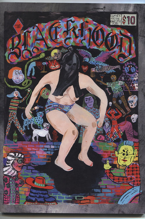Josh Bayer's The Black Hood