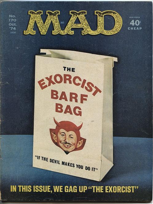 Mad Magazine #170