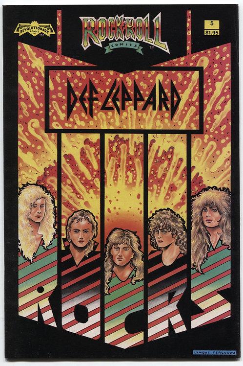 Rock 'N Roll Comics #5: Def Leppard