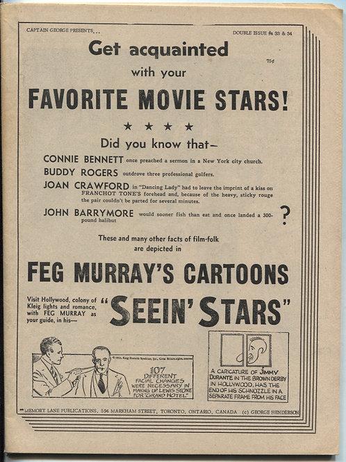 Comic World Presents: Your Favorite Movie Stars