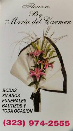 Flowers by Maria Del CarmenSponsor