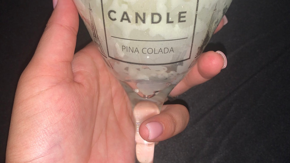 Martini Drink Candle