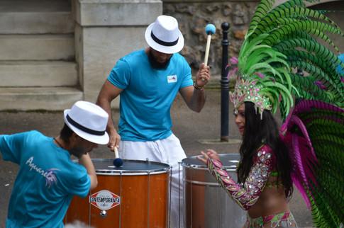 AQUARELA danse & percussions