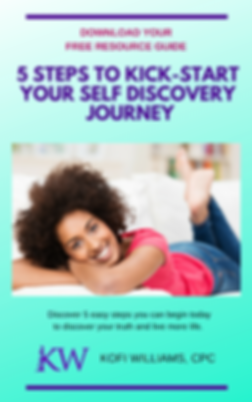 Bookcover - 5 Steps to Begin Your Self D