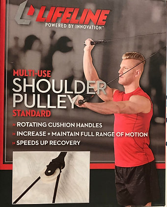 Lifeline Shoulder Pulley for Rotator Cuff Rehabilitation, Physical Therapy