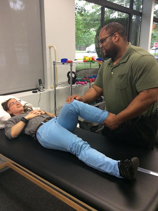 Testing knee stability