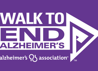 End Alzheimer's Walk!