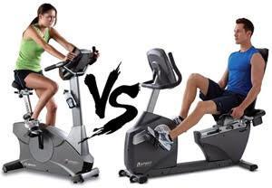 Upright bike vs Recumbent bike