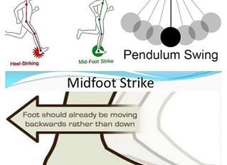 Rearfoot Running vs. Midfoot Running vs. Forefoot Running.