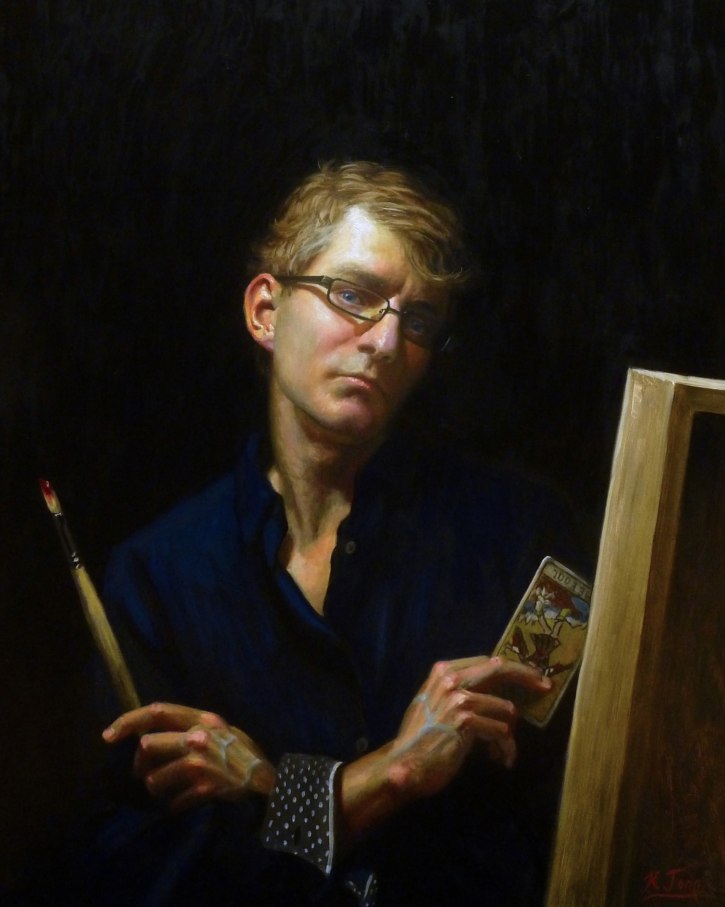 Self Portrait, Age 34
