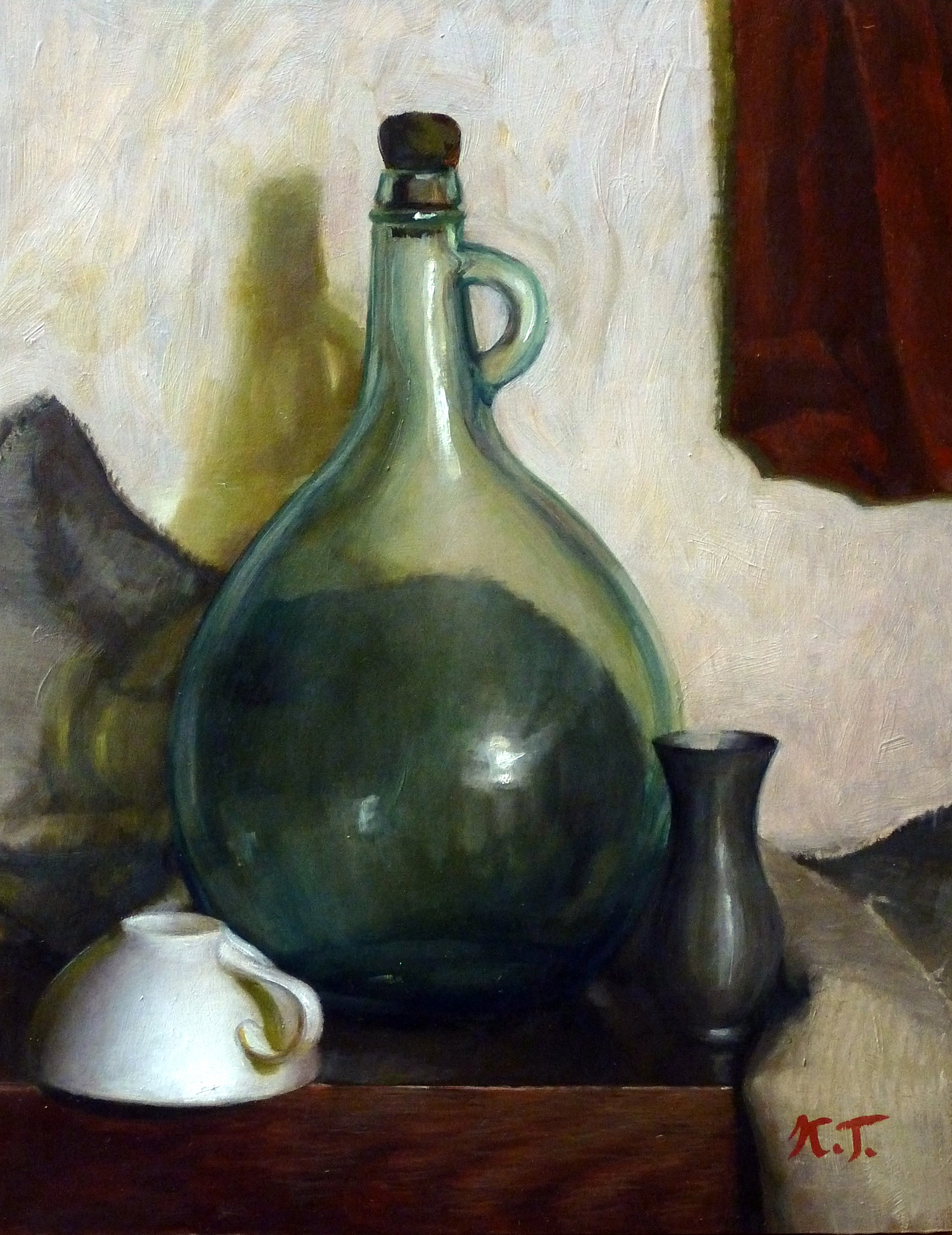 Still-life with Green Jug