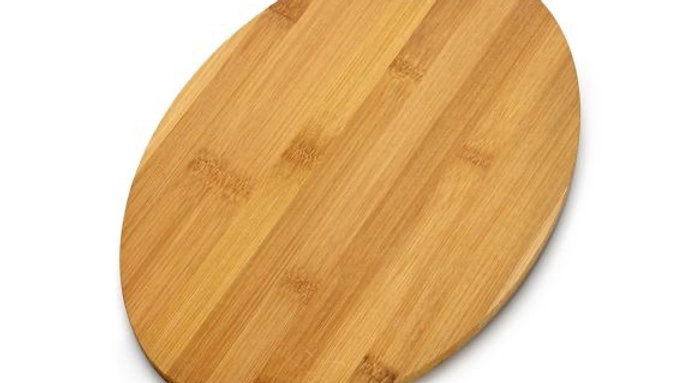 Oval Shaped Bamboo Cheese Board