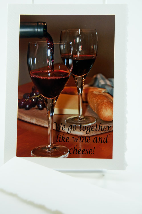 Booze Tales - Go together like wine and cheese!