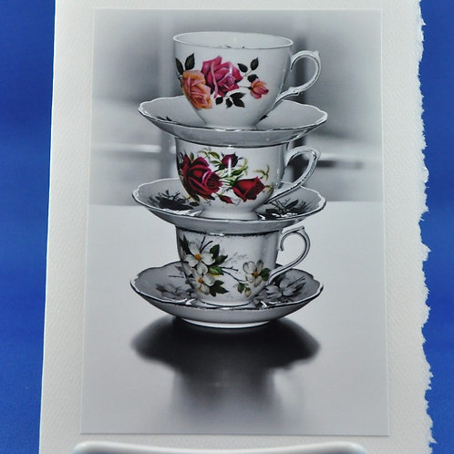 Stacked Tea Cups - SpecialTea Cards