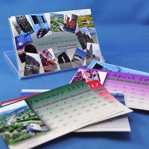 Terrific Travels - Desktop Photo Calendar
