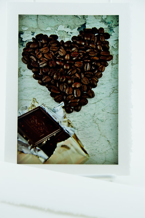 Coffee Culture - Coffee Heart and Chocolate