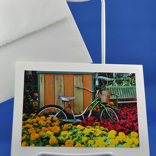 Bicycle in Flowers