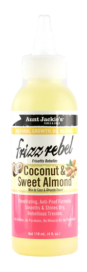 Aunt Jackie's Frizz Rebel - Coconut & Sweet Almond oil