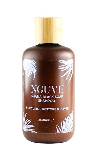 Nguvu Ghana Black Soap Shampoo