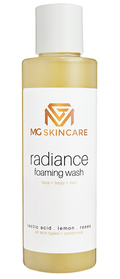 MG Skin Care Radiance Foam Wash