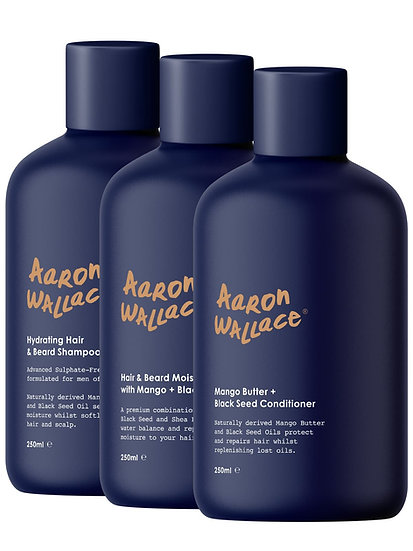 Aaron Wallace: 3-Step Hair Care System
