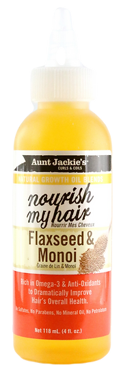 Aunt Jackie's Nourish My Hair - Flaxseed & Monoi Oil