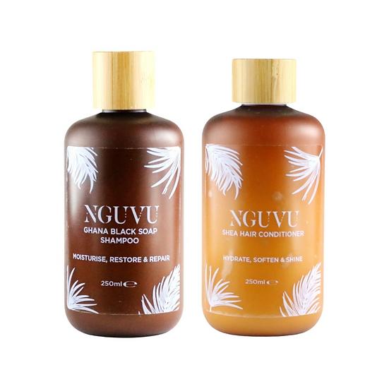Nguvu Shampoo & Conditioner Set