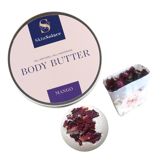 Skin Solace - Bath & Body Pampering Set
