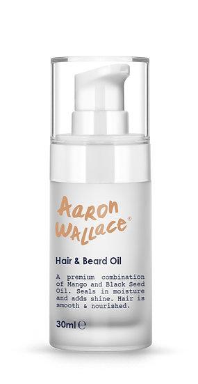Aaron Wallace: Hair & Beard Oil