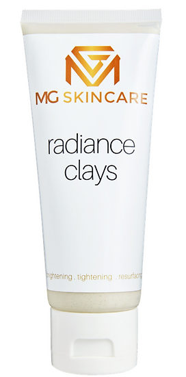 MG Skincare Radiance Clay Mask - Kaolin Clay + Black Charcoal