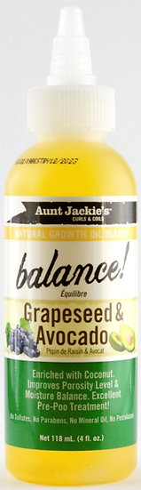 Aunt Jackie's Balance! - Grapeseed & Avocado Oil