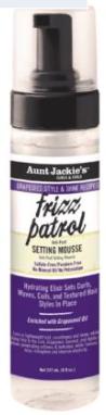 Aunt Jackie's Frizz Patrol Setting Mousse