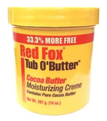 Red Fox Tub O' Butter Cocoa Moisturising Creme