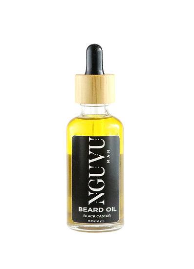 Nguvu Black Castor Beard Oil