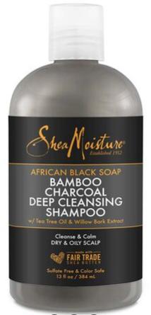 Shea Moisture - Bamboo Charcoal Deep Cleansing Shampoo