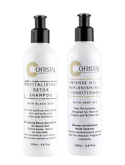 Christal Cosmetics - Shampoo & Conditioner Set