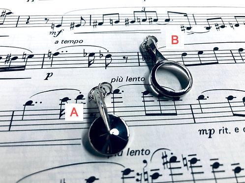 Clarinet Key Pendant