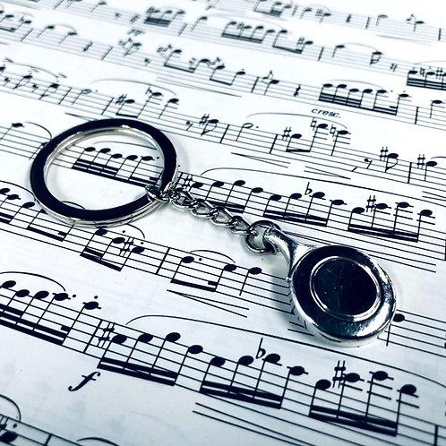Flute Key Keychain